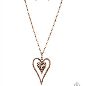 Hardened Hearts - Copper Necklace